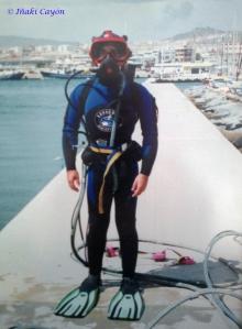 Buceo Profesional Cuerpo entero Iñaki Cayon